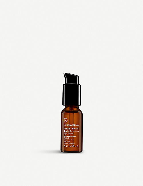 DR DENNIS GROSS SKINCARE: Ferulic + Retinol Triple Correction Eye Serum 15ml