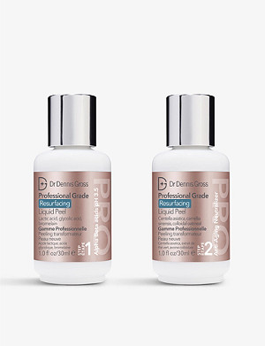 DR DENNIS GROSS SKINCARE Professional Grade Resurfacing Liquid Peel 2 x 30ml
