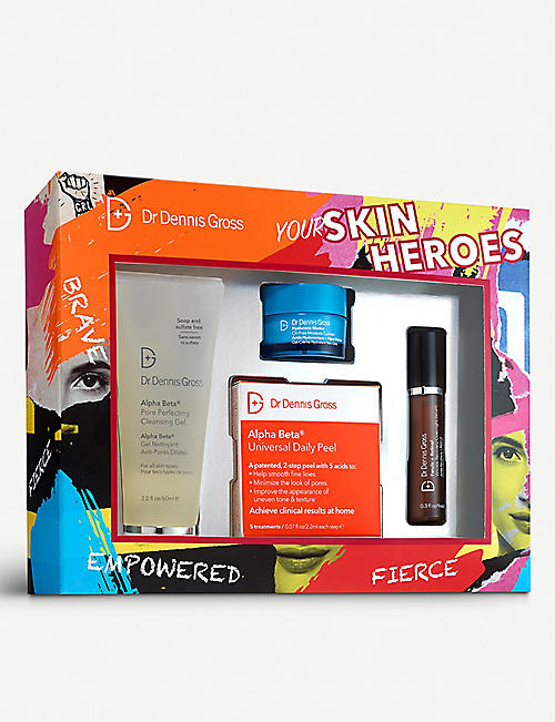DR DENNIS GROSS SKINCARE: Your Skin Heroes skincare kit