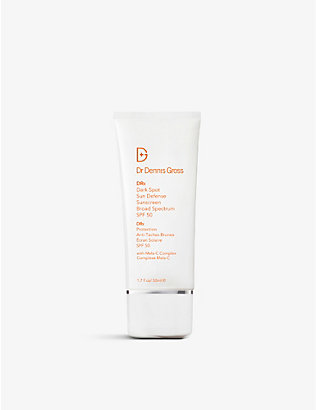 DR DENNIS GROSS SKINCARE: Dark Spot Sun Defense Broad Spectrum Sunscreen SPF 50 50ml