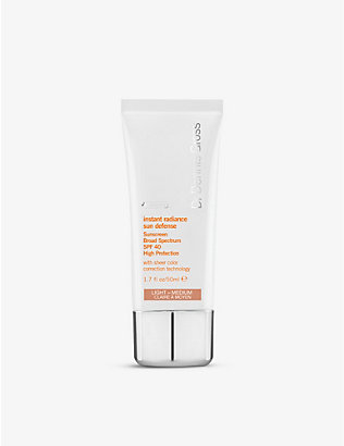 DR DENNIS GROSS SKINCARE: Instant Radiance Sun Defense Sunscreen Broad Spectrum 50ml