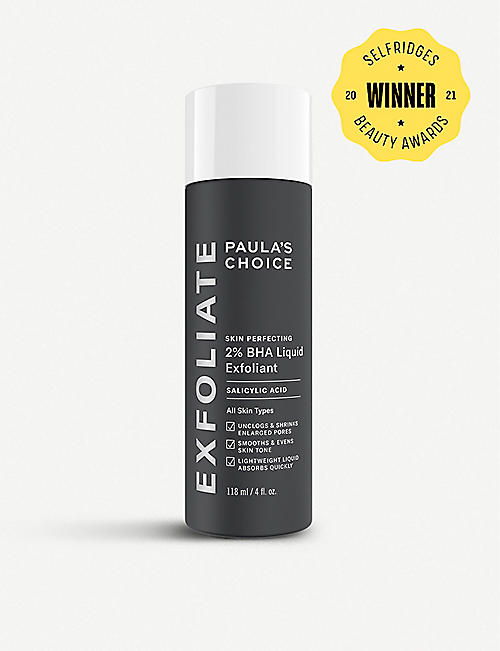 PAULA'S CHOICE: Skin Perfecting 2% BHA liquid exfoliant 118ml