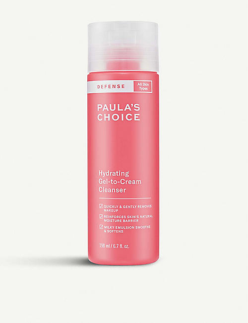PAULA'S CHOICE: DEFENSE Hydrating Gel-to-Cream Cleanser 200ml