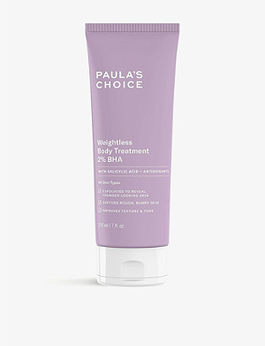 PAULA'S CHOICE RESIST Weightless Body Treatment with 2% BHA 210ml