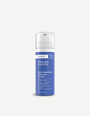 PAULA'S CHOICE: Resist Daily Smoothing Treatment 5% AHA exfoliant 50ml