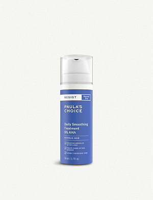 PAULA'S CHOICE Resist Daily Smoothing Treatment 5% AHA exfoliant 50ml