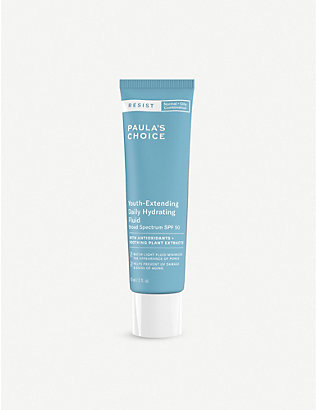 PAULA'S CHOICE: Resist Youth-Extending Daily Hydrating Fluid SPF 50 60ml