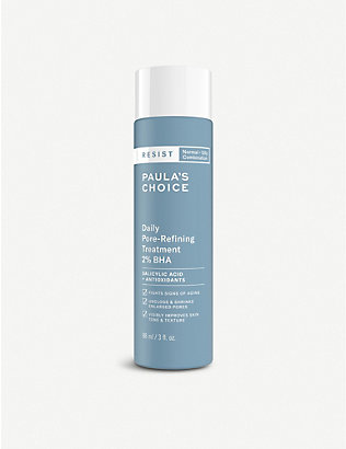 PAULA'S CHOICE: Resist Daily Pore-Refining Treatment 2% BHA exfoliant 88ml