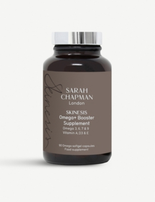 SARAH CHAPMAN Omega+ booster supplement box of 90