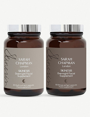 SARAH CHAPMAN Overnight Facial Supplement set of two