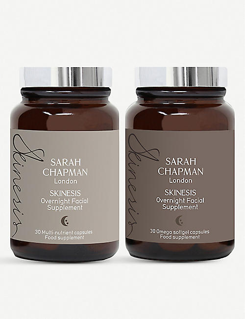 SARAH CHAPMAN: Overnight Facial Supplement set of two