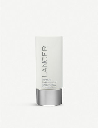 LANCER: Sheer Fluid Sun Shield Broad Spectrum SPF 30 Sunscreen 60ml