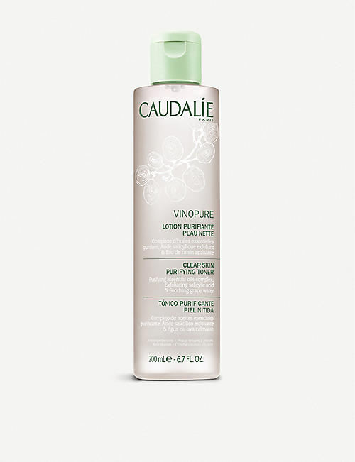 CAUDALIE: Vinopure Clear Skin Purifying Toner 200ml