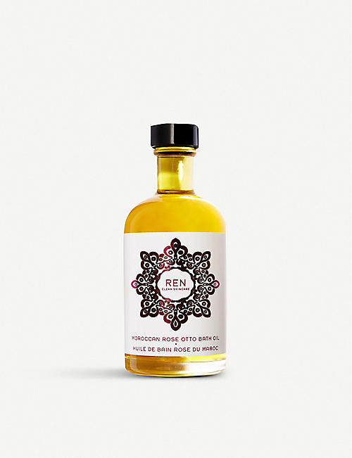 REN: Moroccan Rose Otto Bath Oil 110ml
