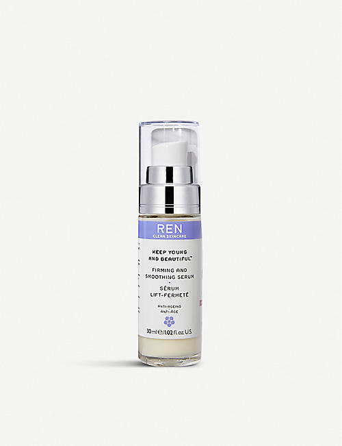 REN Keep Young And Beautiful™ Firming And Smoothing Serum 30ml