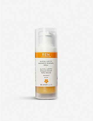 REN: Glycol Lactic Radiance Renewal Mask 50ml