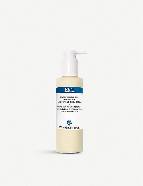 REN: Atlantic Kelp and Magnesium Anti-fatigue Body Cream 200ml