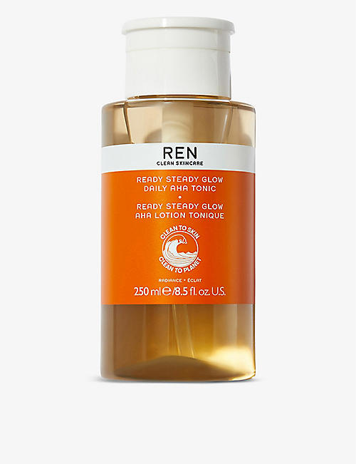 REN: Ready Steady Glow Daily AHA Tonic 250ml