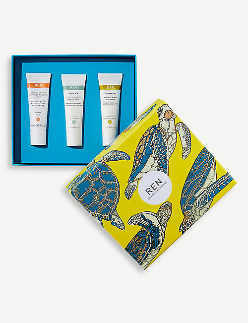 REN Clean Mask Trio gift set