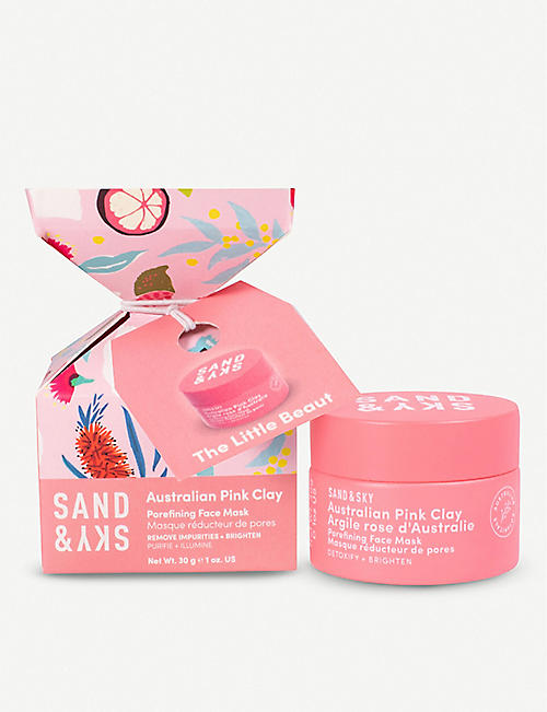 SAND & SKY: The Little Beaut Australian Pink Clay Porefining Face Mask 30g