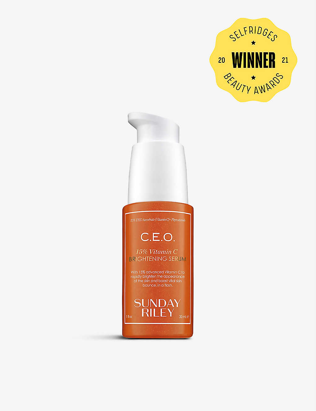 SUNDAY RILEY: C.E.O. Rapid Flash Brightening Serum 30ml