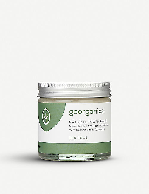 GEORGANICS Natural Toothpaste Tea Tree 80ml