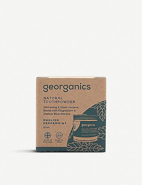 GEORGANICS Natural Toothpaste English Peppermint 60ml