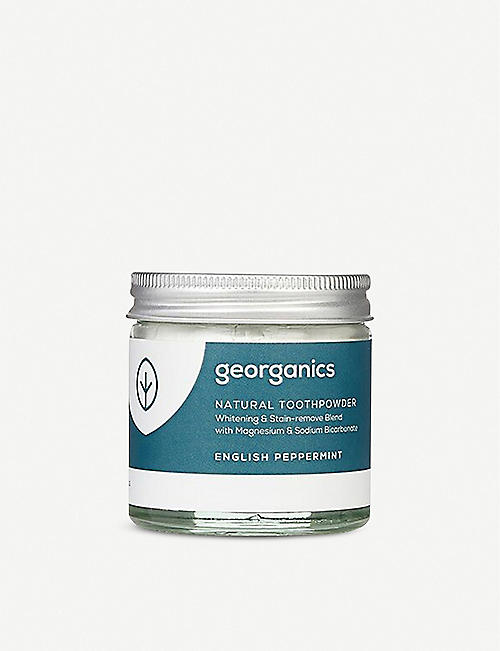 GEORGANICS: Natural Toothpaste English Peppermint 60ml