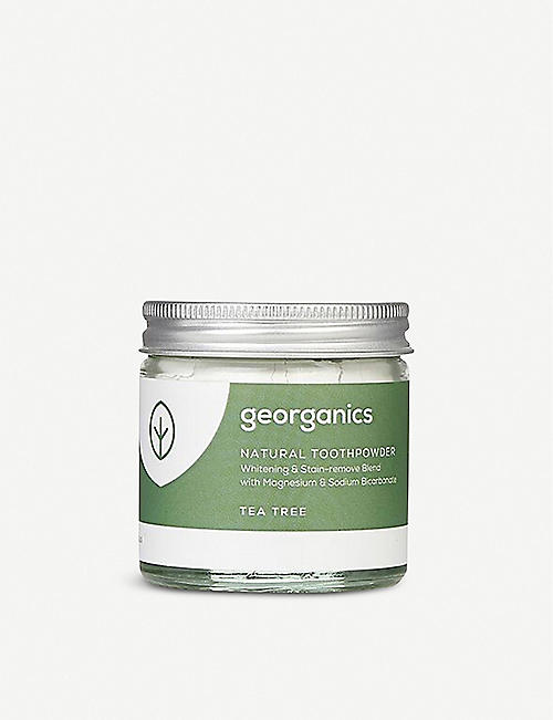 GEORGANICS Natural Toothpaste Tea Tree 60ml