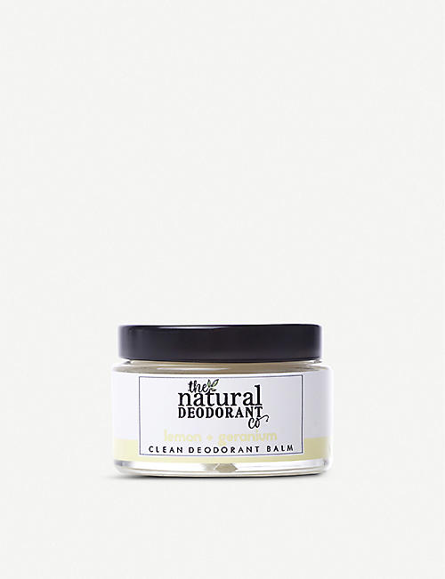 THE NATURAL DEODORANT CO Clean Deodorant Balm Lemon + Geranium