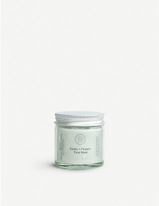 WILD SAGE & CO: Kaolin and flowers face mask 25g