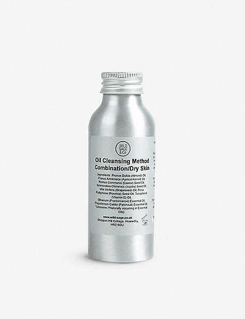 WILD SAGE & CO: Oil Cleansing Method Combination/Dry Skin 100ml
