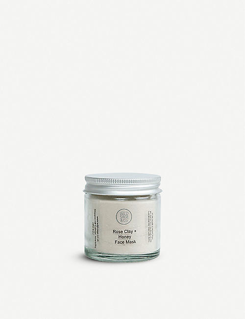 WILD SAGE & CO: Pink Clay and Honey face mask 30g