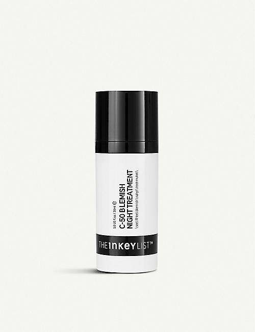 THE INKEY LIST: C-50 blemish night treatment 30ml