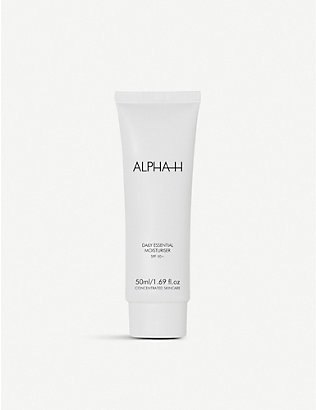 ALPHA-H: Daily Essential moisturiser SPF 50+ with vitamin E 50ml