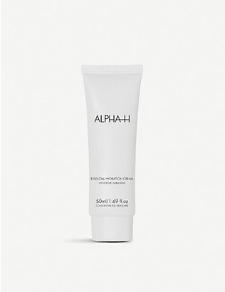 ALPHA-H: Essential Hydration cream with rose geranium 50ml