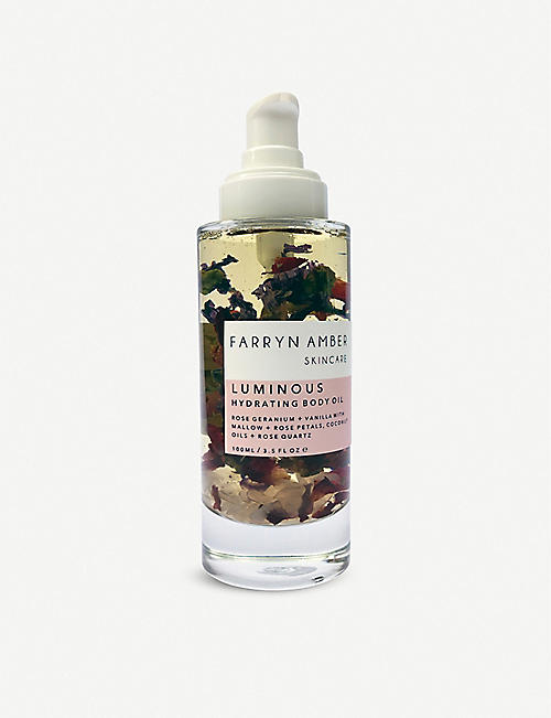 FARRYN AMBER: Luminous Body Oil 100ml