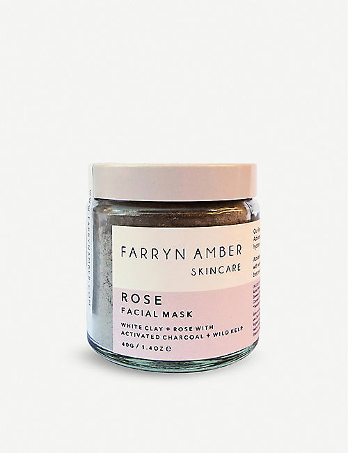 FARRYN AMBER: Rose Facial Mask 40g