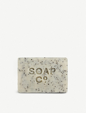 THE SOAP CO Black Poppy & Fig soap 125g