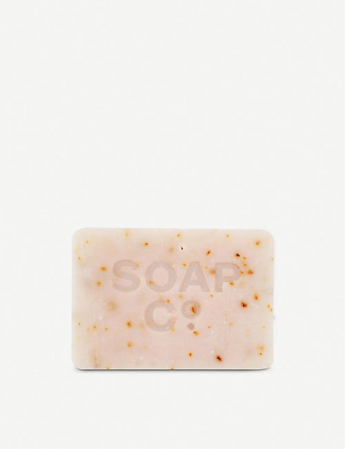 THE SOAP CO Geranium & Rhubarb soap 125g