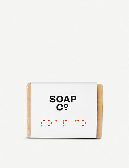 THE SOAP CO Mulberry & Amber soap 125g
