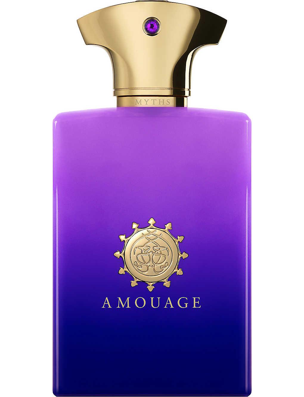 Amouage Myths Man Eau De Parfum 100ml Selfridgescom