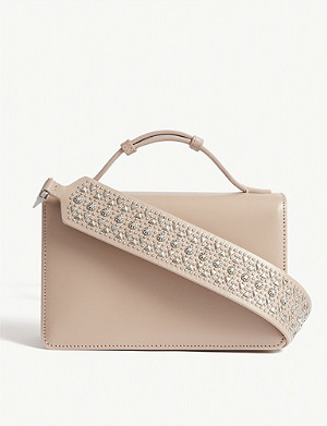 AZZEDINE ALAIA Vienne small leather cross-body bag