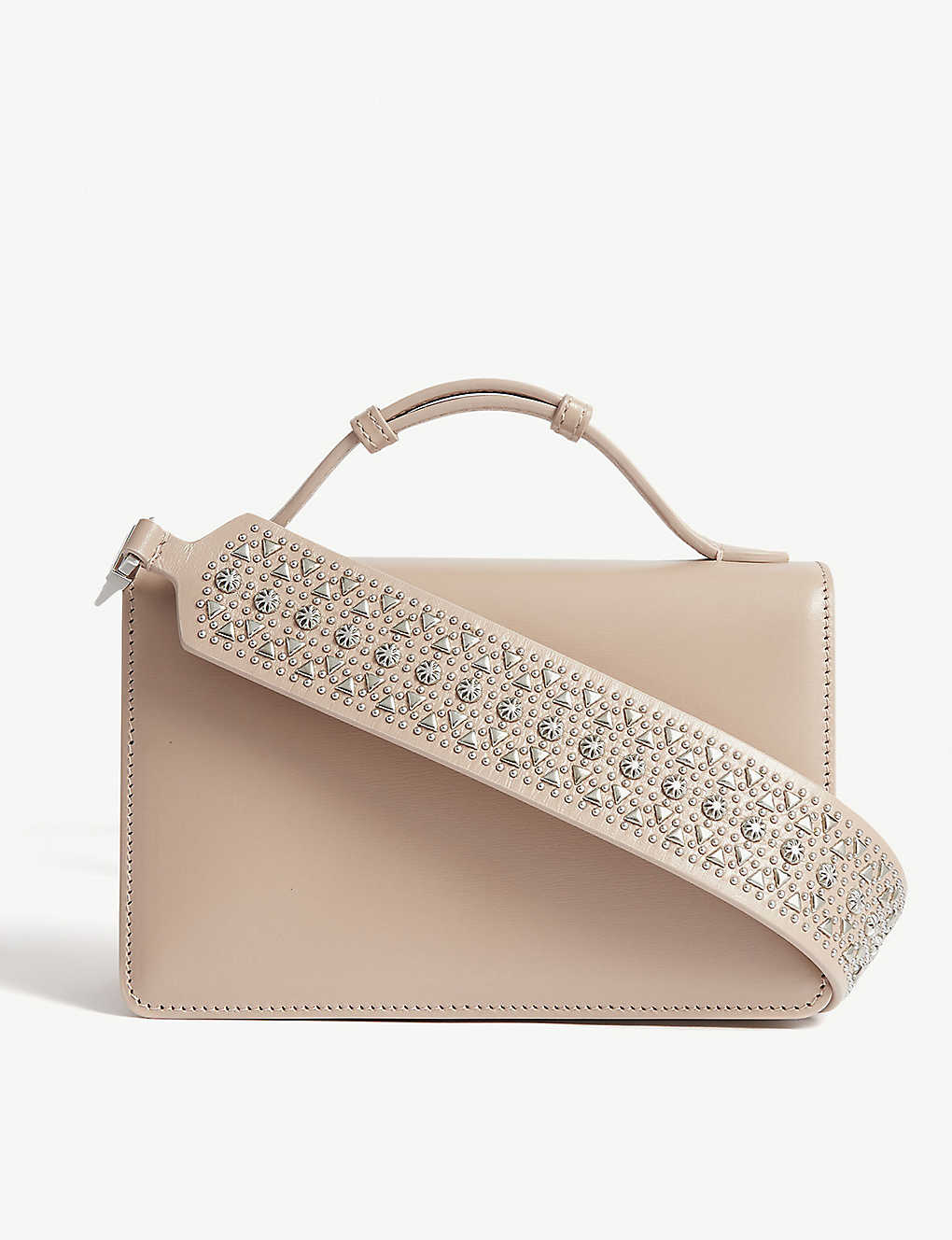 AZZEDINE ALAIA: Vienne small leather cross-body bag
