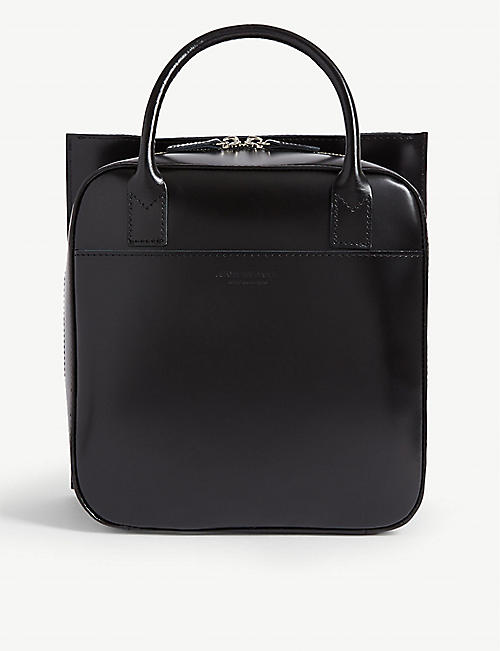 JUNYA WATANABE Top handle leather box bag