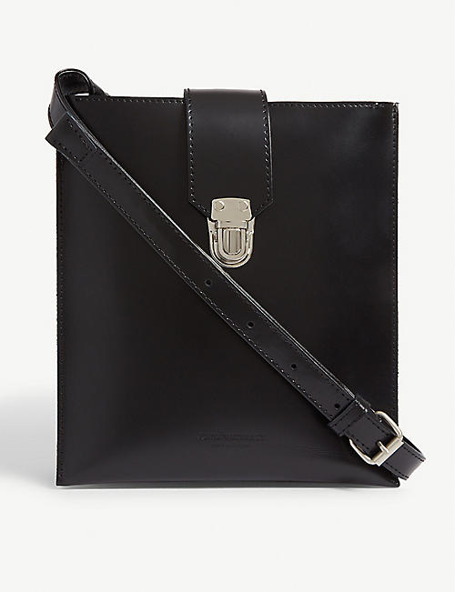 JUNYA WATANABE Square leather cross-body bag