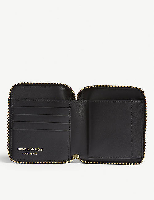 COMME POCKET Square leather wallet