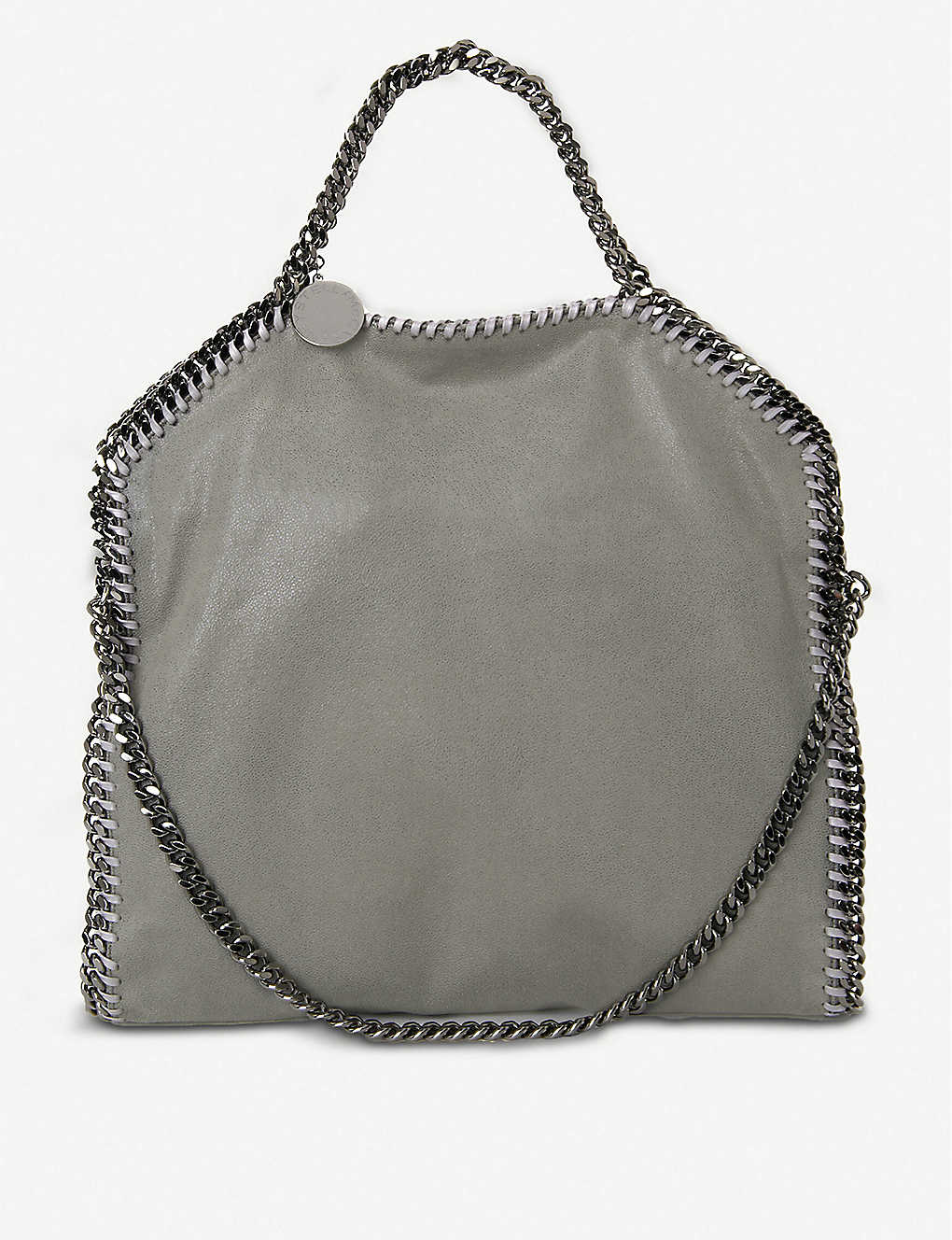 STELLA MCCARTNEY: Falabella faux-suede shoulder bag