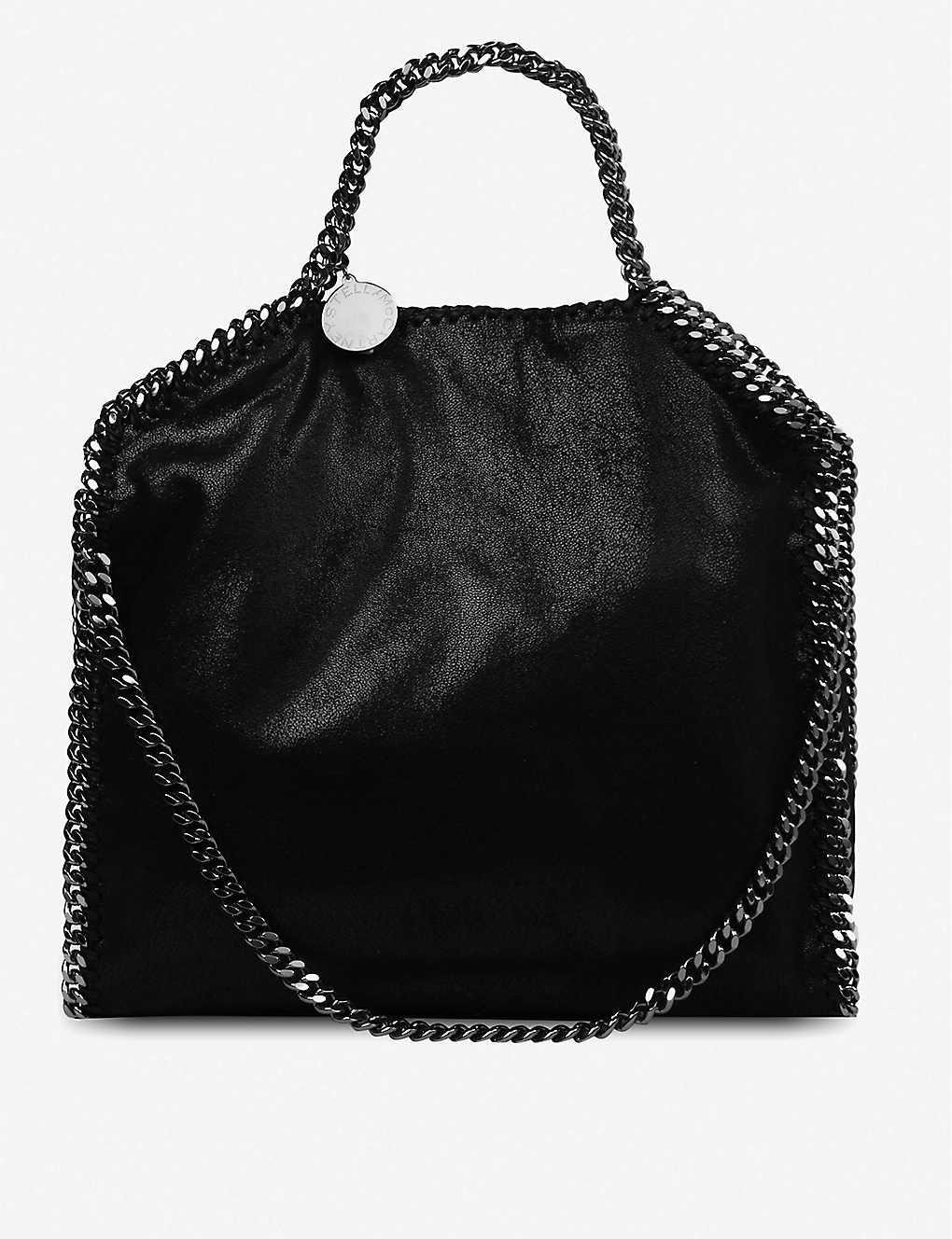 674cc241aef0 STELLA MCCARTNEY - Falabella medium faux-suede shoulder bag ...