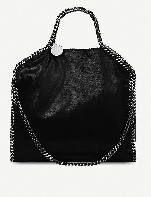 STELLA MCCARTNEY Falabella medium faux-suede shoulder bag